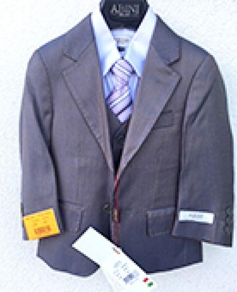 Kisfiú öltöny 311 : olasz szinjátszós 5 részes ing -nyakkendő -mellény modern öltöny