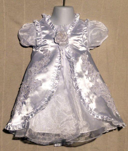 Keresztelő ruha KE 06 : 2 részes keresztelő ruha
