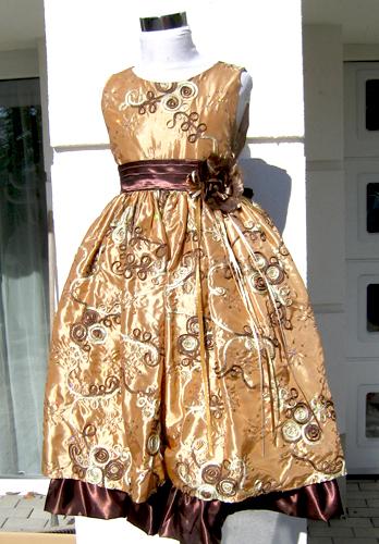 Koszorúslány ruha KO 039 :  arany alaklmi ruha