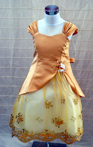 Koszorúslány ruha KO 049 : alkalmi ruha gyerekeknek