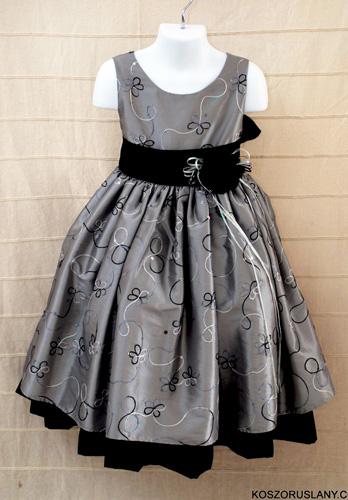Koszorúslány ruha KO 073 : koszoruslány ruha három alsó szoknyával ezüst hímzéssel csak egy két darab szuper akciós áron '!!!!!