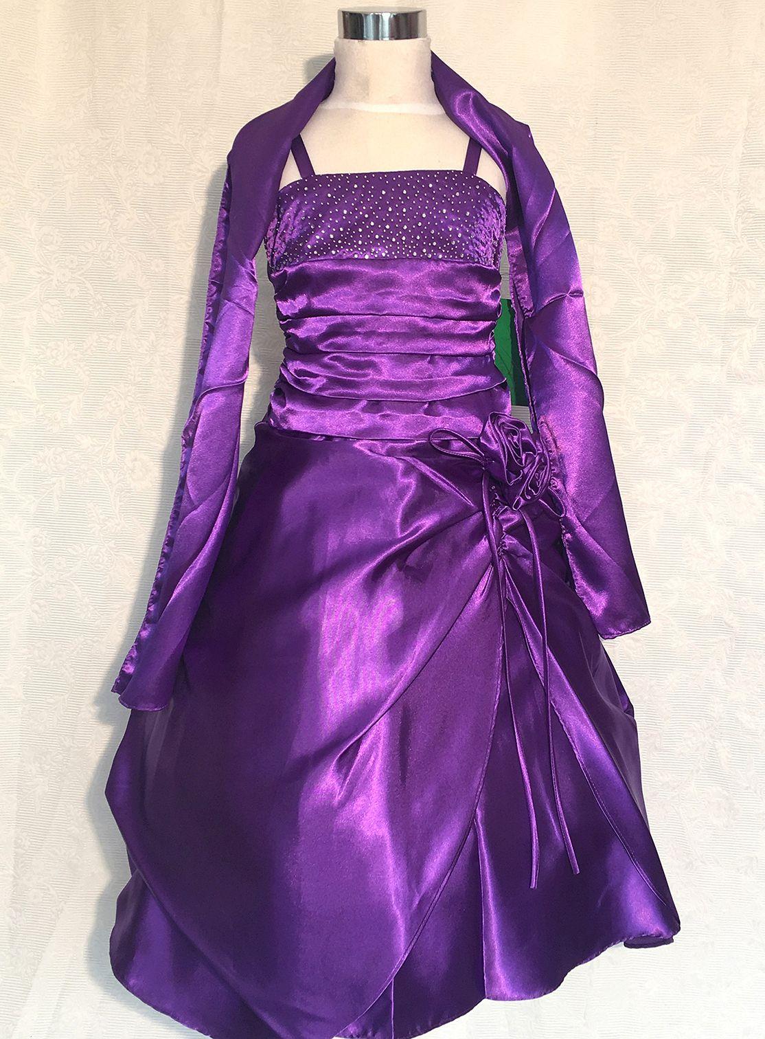 Koszorúslány ruha KO 013   különleges mályva színben a3c96b07b7