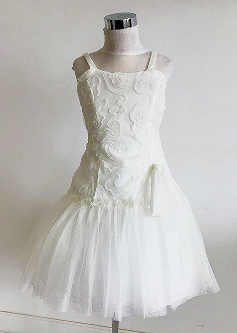 Koszorúslány ruha KO 106 : abroncsos koszoruslány ruha