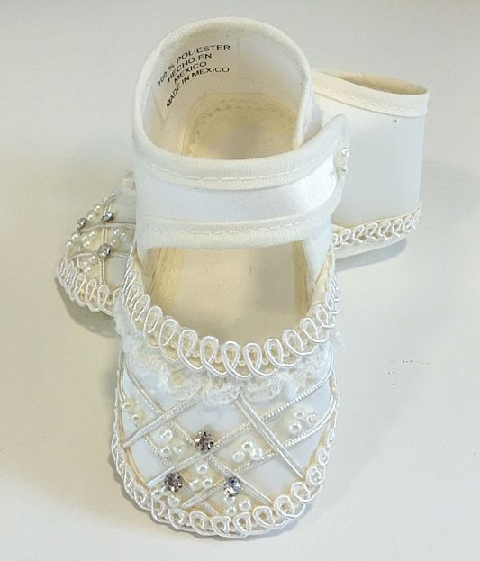 Cipő 001 : swarovski kristályokkal díszített baba cipő 10 cm es talphosszra való