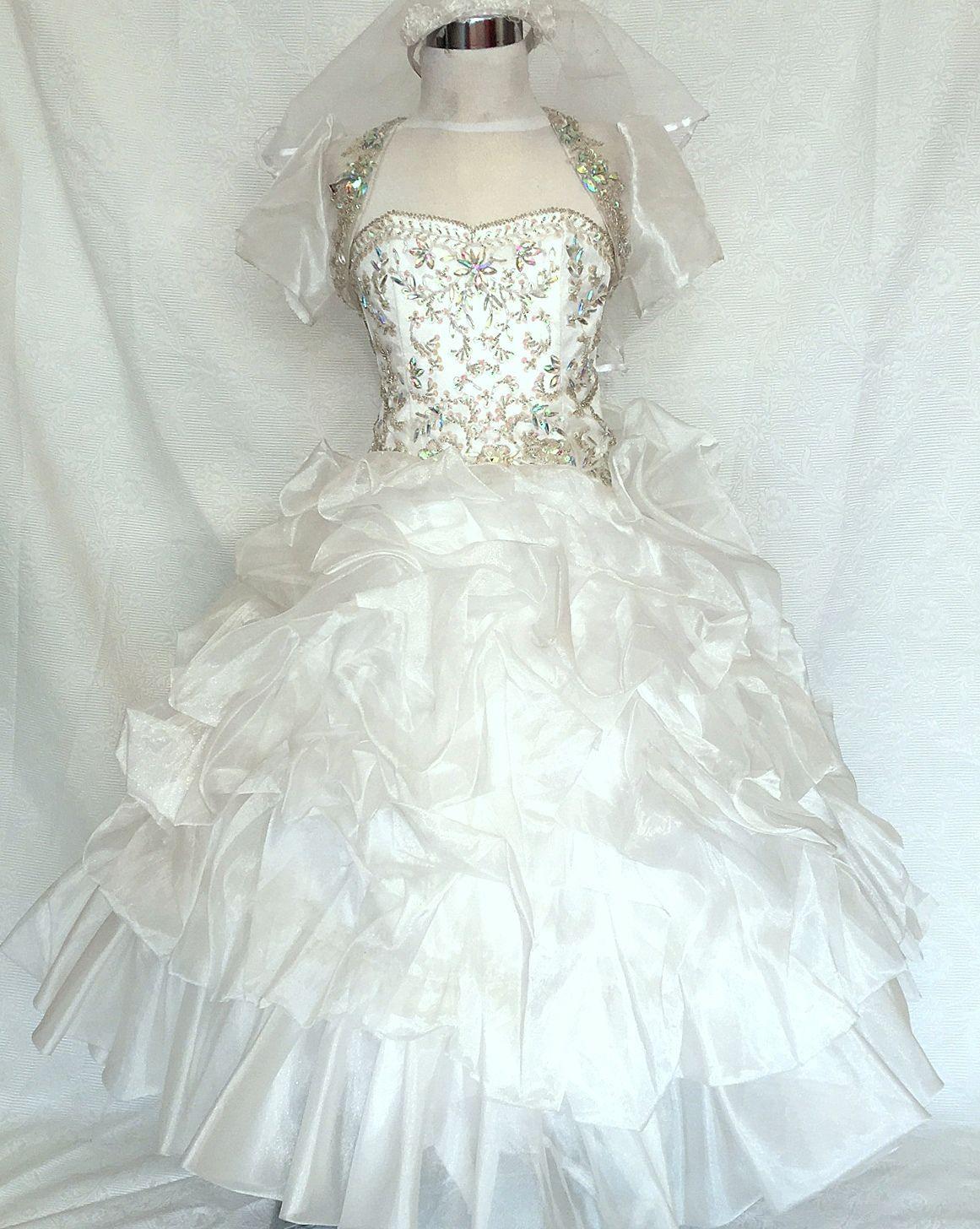 Koszorúslány ruha KO 010 : swarovski kristályokkal díszített gyönyörű hercegnő ruha alkalomra