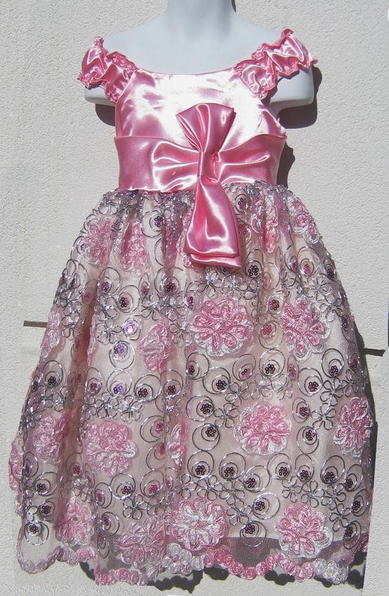 KO 114 19980.-Ft  : flitteres csipkés koszorúslány esküvői ruha gyerekeknek