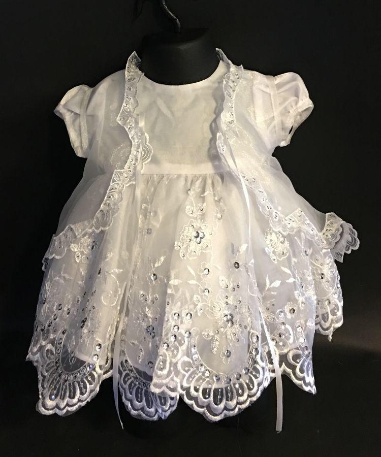 keresztelő ruha KE004