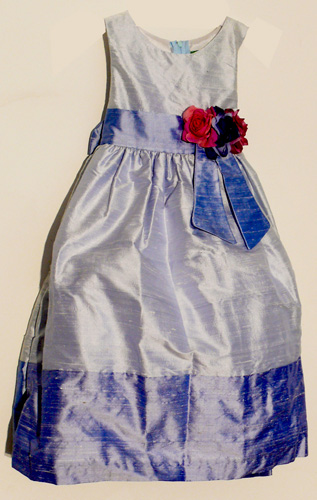 Koszorúslány ruha KO 089 : koktél ruha gyerekeknek